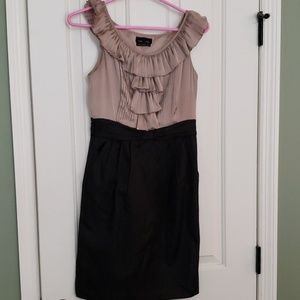 Max and Cleo ruffle top dress size 4